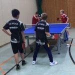 Tischtennis Kreiseinzelmeisterschafft 2017, Jugend Doppel, TTC Perlach