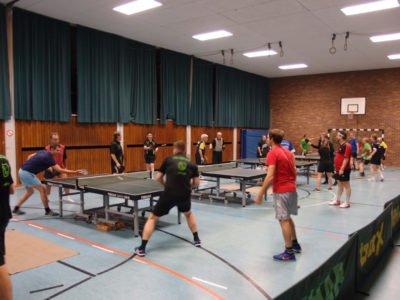 Tischtennis Schleiferlturnier beim TTC Perlach