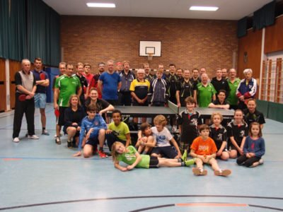 Tischtennis Schleiferlturnier beim TTC Perlach, Gruppenfoto